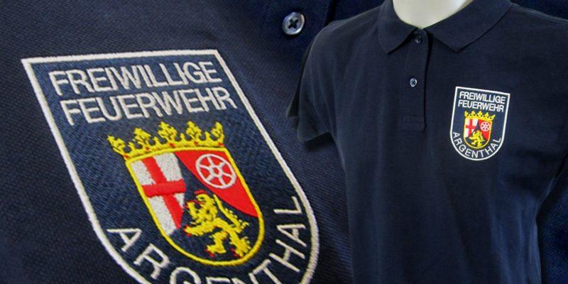 Freiwillige Feuerwehr Argenthal – Poloshirts