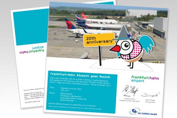 EInladung Frankfurt Hahn Airport