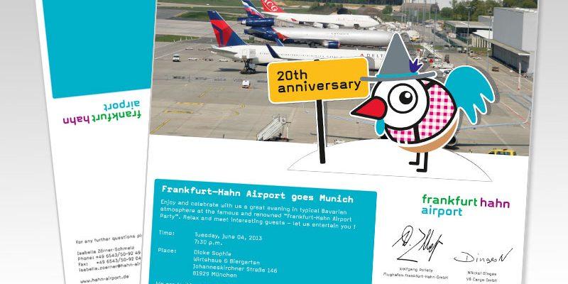 Frankfurt Hahn Airport – Einladung zur Messe