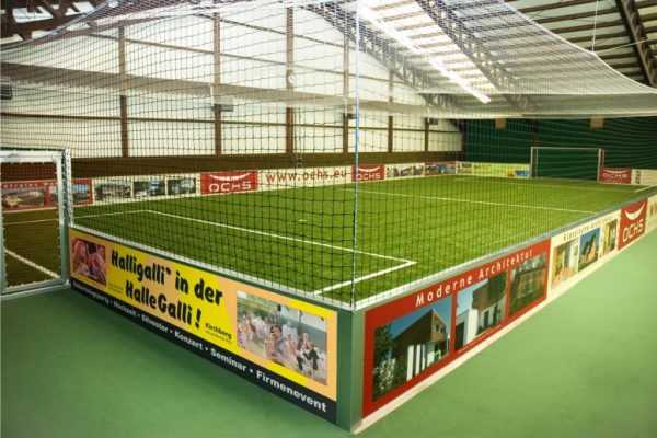 Cage-Soccer-Spielfeld