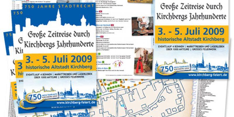 Stadt Kirchberg – Konzeption zum Geburstag