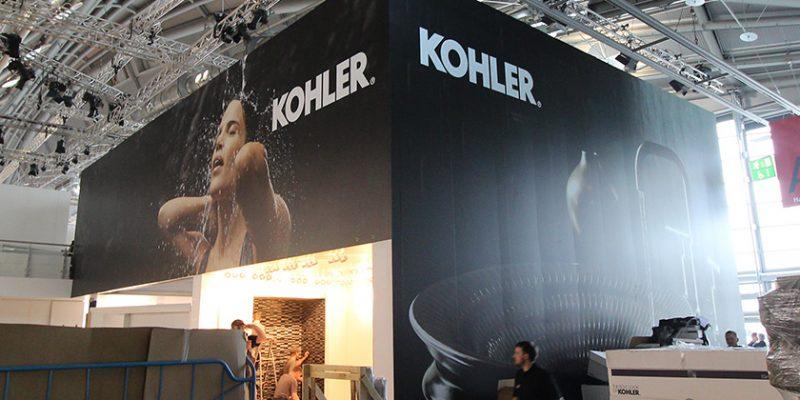 Kohler – Messestand