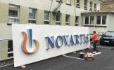 Novartis Manufacturing GmbH – LED Lichtwerbeanlage