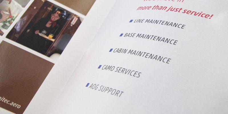 HAITEC Aircraft Maintenance GmbH – Broschüre