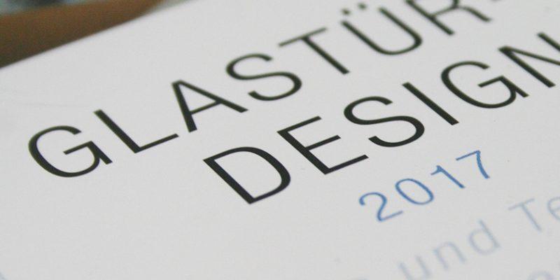 Cristalux – Broschüre Glastürendesign 2017