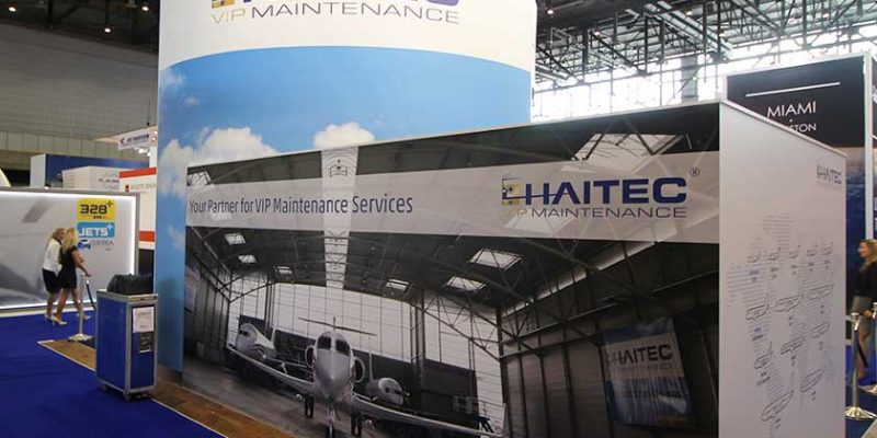 HAITEC Aircraft Maintenance GmbH – Messestände
