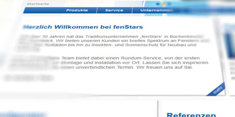 fenStars klein, caspari & Co. GmbH