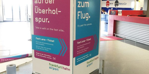 Frankfurt Hahn Airport – FastLane Konzept