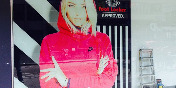 Foot Locker – Stoffbanner