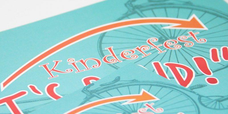 Stadt Kirchberg – Kinderfest Poster/Flyer