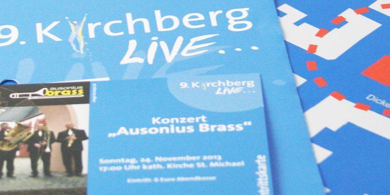 Kirchberg Live – Flyer