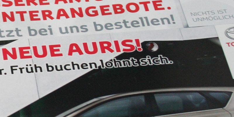 Autohaus Rüdinger – Flyer