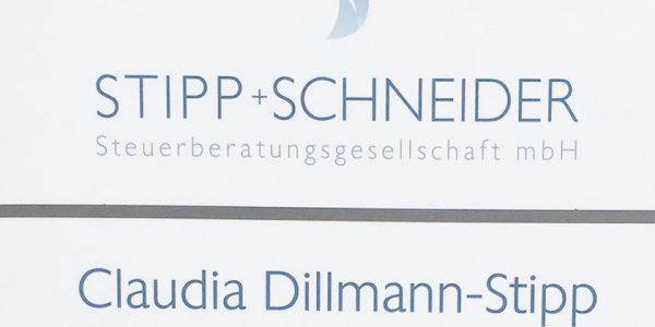 Stipp + Schneider Steuerberatungsgesellschaft mbH – Beschilderung