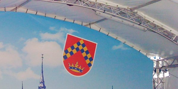 Stadt Kirchberg – Bühnenbild