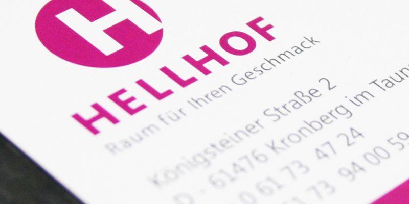 Hellhof – Visitenkarten